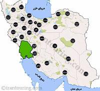دانلود نقشه خوزستان