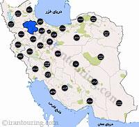 دانلود مسیرهای گردشگری زنجان