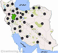 دانلود مسیرهای گردشگری همدان
