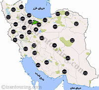 دانلود مسیرهای گردشگری البرز