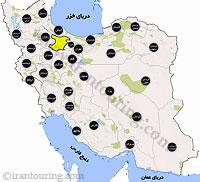 دانلود مسیرهای گردشگری قزوین