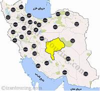 دانلود مسیرهای گردشگری یزد