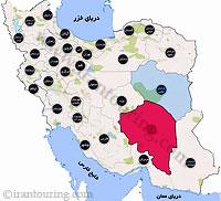 دانلود مسیرهای گردشگری کرمان