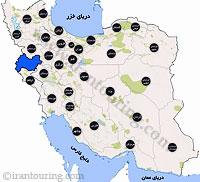 دانلود مسیرهای گردشگری کرمانشاه