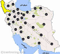 دانلود نقشه آذربایجان غربی