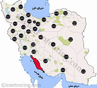 دانلود مسیرهای گردشگری بوشهر