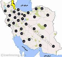 دانلود نقشه اردبیل