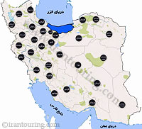 دانلود مسیرهای گردشگری مازندران