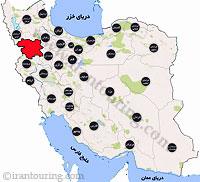 دانلود نقشه کردستان