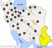 دانلود نقشه سیستان و بلوچستان