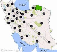 دانلود مسیرهای گردشگری خراسان شمالی